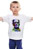 """Детская футболка классическая унисекс """"Арт Франкенштейн"""" - искусство, frankenstein, франкенштейн, я жив"""