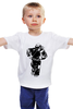 """Детская футболка классическая унисекс """"Пейнтболист"""" - спорт, оружие, пейнтбол, стрельба, пейнтболист"""