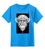 "Детская футболка классическая унисекс ""Monkey"" - арт, дизайн, графика, обезьяна, monkey"