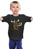 """Детская футболка классическая унисекс """"Кот Викинг"""" - кот, cat, викинг, viking"""