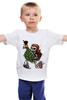 """Детская футболка классическая унисекс """"Wall Breaker (Clash of Сlans)"""" - clash of clans, столкновение кланов"""