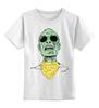 """Детская футболка классическая унисекс """"Психоделика"""" - zombie, зомби, green, shades"""