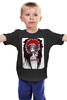 """Детская футболка классическая унисекс """"Kasabian - Pizzorno"""" - арт, хипстер, kasabian, pizzorno, пиццорно"""