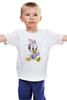"""Детская футболка классическая унисекс """"поночка"""" - утиные истории, поночка"""