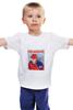 """Детская футболка классическая унисекс """"хоккейная с Путиным """"Пора выпускать"""""""" - авторские майки"""