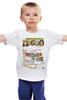 """Детская футболка классическая унисекс """"ретро постер"""" - ретро, кино, постер, волшебник страны озз, wizard of oz"""