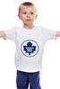 "Детская футболка ""Торонто Мэйпл Лифс "" - хоккей, nhl, нхл, toronto maple leafs, торонто мэйпл лифс"