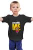 "Детская футболка ""Unbreakable Me (Minion)"" - миньон, гадкий я, minion"