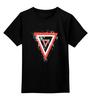 "Детская футболка классическая унисекс ""Distressed Valkrys tothestars"" - ava, blink182, tomdelonge, tothestars, angelsandairwaves"