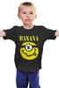 """Детская футболка """"Миньон (Banana)"""" - nirvana, пародия, нирвана, minion, банана"""