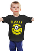 "Детская футболка классическая унисекс ""Миньон (Banana)"" - nirvana, пародия, нирвана, minion, банана"