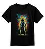 """Детская футболка классическая унисекс """"Космонавт"""" - космос, абстракция, галактика, космонавт"""