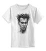 """Детская футболка классическая унисекс """"Johnny Depp"""" - johnny depp, актёр, джонни депп, кино, режиссёр"""