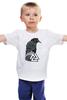 """Детская футболка классическая унисекс """"Ворон свободы"""" - свобода, мудрость, ворон, викинги, путь воина"""