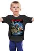 """Детская футболка классическая унисекс """"Iron Maiden Band"""" - music, rock, heavy metal, рок музыка, iron maiden, хэви метал, eddie"""
