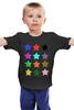 """Детская футболка """"   Stars On The Black"""" - stars, звёзды"""