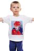 """Детская футболка """"Путин"""" - москва, россия, путин, президент, кремль"""