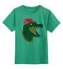 """Детская футболка классическая унисекс """"Art Swag"""" - style, стиль, крокодил, swag, свэг"""