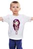 """Детская футболка """"Девушка космос"""" - девушка, space, космос, принцесса, милота"""