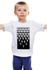 """Детская футболка классическая унисекс """"Пингвины"""" - арт, пингвины, дизайн, природа"""