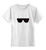 "Детская футболка классическая унисекс ""Очки Терминатора"" - терминатор, арни, шварц, the terminator"