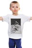 "Детская футболка ""девушка на велосипеде"" - спорт, bmx, велосипед, street, bike, стрит, biking, велоспорт, девушка на велосипеде, дерт"