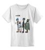 """Детская футболка классическая унисекс """"Gorillaz"""" - музыка, gorillaz, funk, гориллаз"""