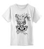 """Детская футболка классическая унисекс """"Koodоо t m"""" - олень, deer, tm kiseleva, большой куду, лесной страж"""