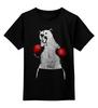 """Детская футболка классическая унисекс """"Медведь Боксер"""" - спорт, bear, медведь, бокс"""