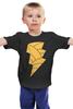 """Детская футболка классическая унисекс """"Чёрный Адам (Black Adam)"""" - dc, black adam, чёрный адам"""
