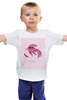 "Детская футболка ""Знаки зодиака. Рыбы."" - рыбы, знак зодиака"