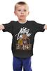 """Детская футболка """"Natus Vincere (Na'Vi) – Illustration Black"""" - игры, game, иллюстрация, зверь, dota, dota 2, navi, natus vincere, monsters, монстры"""