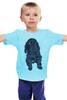 """Детская футболка классическая унисекс """"Пёсик"""" - dog, собака, cocker spaniel, спаниель"""