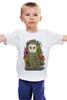 """Детская футболка """"Сова"""" - животные, сова, owl, forest"""