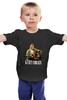 """Детская футболка классическая унисекс """"Nirvana Kurt Cobain guitar t-shirt"""" - гранж, nirvana, kurt cobain, курт кобейн, нирвана"""