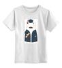 """Детская футболка классическая унисекс """"Мишка Бо"""" - мишка, студент, выпускной"""