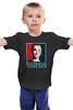 """Детская футболка классическая унисекс """"Bazinga"""" - the big bang theory, bazinga, теория большого взрыва, постер, бугагашенька"""