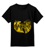 "Детская футболка классическая унисекс ""свитшот wu tang clan"" - стиль, ny, hip hop, wu tang clan, nyc"