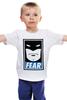 """Детская футболка """"Batman (Бэтмен)"""" - страх, batman, fear, бэтмен"""