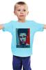 """Детская футболка классическая унисекс """"Tyler Durden (Fight Club)"""" - pop art, бойцовский клуб, brad pitt, брэд питт, fight club"""