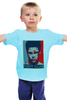 "Детская футболка ""Tyler Durden (Fight Club)"" - pop art, бойцовский клуб, brad pitt, брэд питт, fight club"