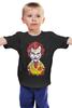 """Детская футболка классическая унисекс """"Джокер МакДональд"""" - joker, пародия, batman, джокер, mcdonalds"""