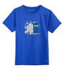 """Детская футболка классическая унисекс """"Тоторо"""" - doctor who, totoro, доктор кто, тардис, мой сосед тоторо"""