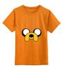 """Детская футболка классическая унисекс """" Jake-Dog"""" - adventure time, время приключений, jake, jake the dog"""