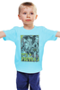 """Детская футболка классическая унисекс """"Pulp Fiction family"""" - tarantino, криминальное чтиво, pulp fiction, квентин тарантино, kinoart"""