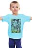 "Детская футболка ""Pulp Fiction family"" - tarantino, криминальное чтиво, pulp fiction, квентин тарантино, kinoart"