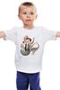 """Детская футболка классическая унисекс """"Мир юрского периода"""" - парк юрского периода, jurassic park"""