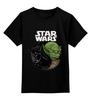 """Детская футболка классическая унисекс """"star wars"""" - star wars, вейдер, йода, звёздные войны"""
