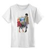 """Детская футболка классическая унисекс """"К востоку от рая / Eden of The East"""" - аниме, к востоку от рая, саки морими, акира такидзава"""