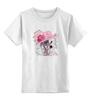 """Детская футболка классическая унисекс """"Собачка"""" - dog, hat, собака, шляпа"""